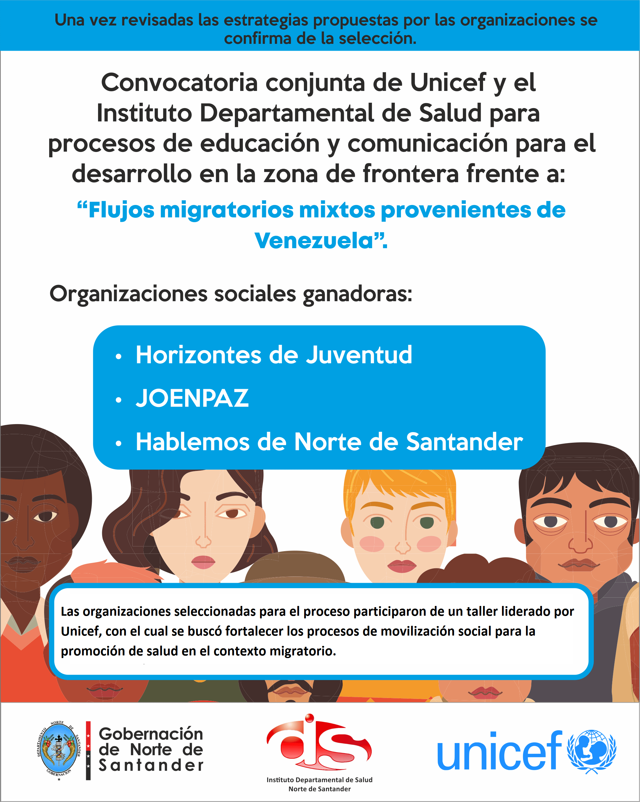 Convocatoria Unicef